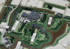 沼津城 復元模型